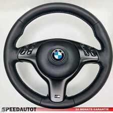 Lederlenkrad BMW Z3 E46 E39 M Lenkrad mit Blende Multif.  SCHWARZ  und Airbag