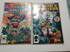 Transformers Head Masters Comic Book Series #1-#4 1987