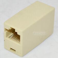 CAT5 RJ45 Lan 8P8C Coupler Jointer Plug Network Extension Cord Adapter Converter