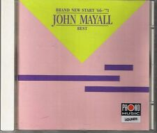 Mayall, John Brand New Start 66-71 (Best of) Zounds CD