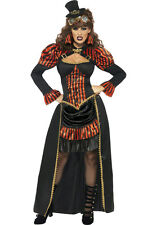 Steampunk Vamp Victorian Vampiress Adult Costume Size Medium