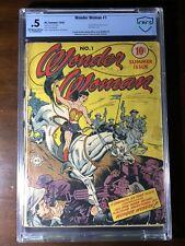 Wonder Woman #1 (1942) - Premiere Issue!!! - CBCS 0.5 (Not CGC) - Mega Key!!!
