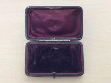 RARE ANTIQUE BROOCH & EARRING JEWELLERY JEWELRY BOX 1880