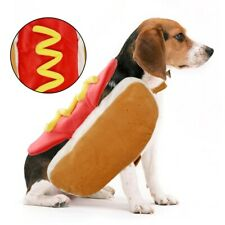 hot Dog Costume Cat Halloween Hotdog funny outfit clothes LARGE SIZE