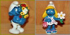 Schtroumpf Schleich: Lot de 2 figurines - NEUF (Smurf Puffi Pitufo Schlumpf)