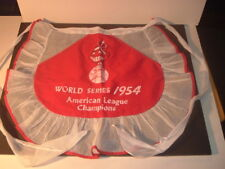 1954 Cleveland Indians World Series Cloth Apron