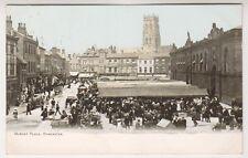Yorkshire (West) postcard - Market Place, Doncaster - P/U 1904