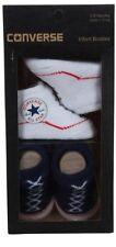 Converse All Star Baby Chucks Blau Weiß Socken 0-6 Monate Baby Geschenkpackung