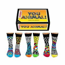 You Animal - sei totalmente Wild Uomo Calze Spaiate da United Oddsocks