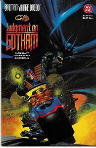Complete Set Batman Judge Dredd 3 One Shots Judgement Vendetta Riddle VF/NM FZ