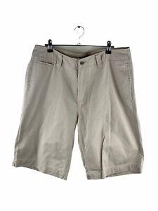 JAG Bermuda Walking Shorts Mens Size 34 Beige Zip Close Casual Golf Pockets