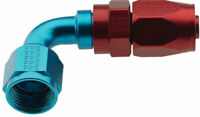 FRAGOLA 229006 Hose Fitting 6 AN 90 Degree Pro Flow