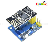 ESP8266 ESP-01S Wireless WIFI Module DS18B20 Temperature Sensor Adapter Board
