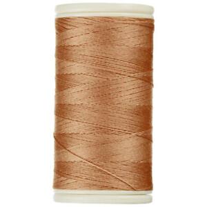 1 Bobine de Fil à coudre Coats DUET 100 mètres 100 % polyester N° 7607 marron