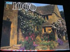 COTTAGE COTSWOLD, ENGLAND SEALED NEW!  GOLDEN GUILD 1000 PCE JIGSAW PUZZLE M-19