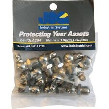 Grease Nipples 10 X 1 Metric - 90° Pack Of 10