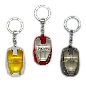 Iron Man Ironman Heavy 3D Keychain Keyring High Quality & Large Marvel Avengers