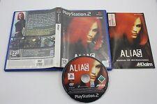 PLAY STATION 2 PS2 ALIAS COMPLETO PAL ESPAÑA