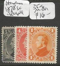 Honduras 1878 SC 32 MNG, 35-6 MOG (3ciz)