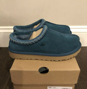 New UGG Women's Size 11 Tasman Slipper CCD Teal Blue