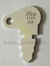 1147 key for heavy equipment, yard tractors, fork lifts, boat lifts NEW 603, CH1