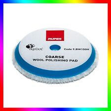 Rupes Wool Pad Blue Coarse Fits 15es & DUETTO 150mm