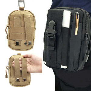 Tactical Multi Waist Bag Military Waterproof Belt Pouch Oxford Outdoor Hiking