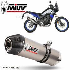 7000023700 - Silenziatore MIVV Ovali Titanio/Spoiler Carbonio Yamaha Tenere 700