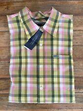 Camisa de cuadros marca ENYCE by Sean John plaid button down shirt L