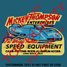 MT SPEED MICKEY THOMPSON Decal Sticker Retro Vintage Americana Decal Hot Rat Rod