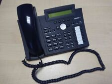SNOM 320 VoIP desk phones with JPL dual earpiece headset and power supply