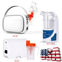 Portable Ultrasonic Atomizer Handheld Respirator / Compact Compressor Machine