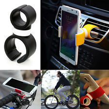 Motorcycle Car Mount Cellphone Holder 360° Rotating For Universal Smartphone GPS