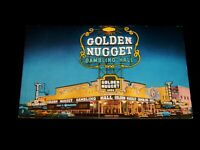 Vintage Postcard,LAS VEGAS, NEVADA,NV,Golden Nugget Gambling Hall (Casino)1940's