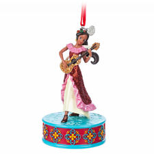 "Disney Store Elena of Avalor Singing Princess Christmas Ornament Figure 4"" H NWT"