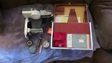 Vintage Polaroid 900 Electric Eye Land Camera W/Wink Light , Case & Accessories