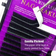 16 Rows Individual C/D Mink Hair Eyelashes Extension Natural Long Fake Lashes