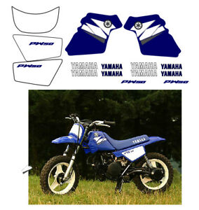 Graphics Decal Motorcycle Wrap Sticker Kits For Compatible Fit With Yamaha PW 50