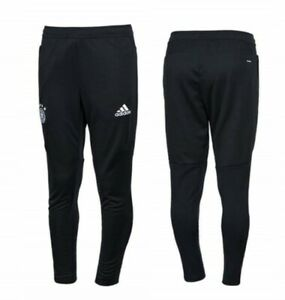 Germany Football Pants Size M Mens Black Soccer Adidas AZ5643 ig93