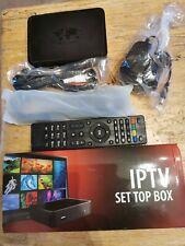 Mag 254 IPTV Box With UK Plug And Remote.