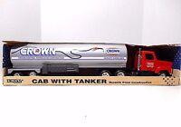 1992  Ertl  International Tractor & Crown Tanker Trailer'  Pressed Steel