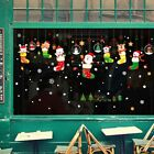 Merry Christmas Wall Stickers Store Decal Xmas Home Shop Decoration Decor