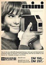 Bauer MINI S SUPER 8 fotocamera (12) - visualizzazione originale di 1966