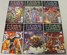 Marvel: Fear Itself - Youth in Revolt (2011) #1-6 COMPLETE SET