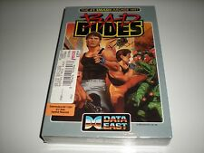 Bad Dudes game for Commodore 64 by Data East. New. Blemished but sealed box.