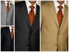 Mantoni  2-Button Solid Suit 100% Wool premium suits
