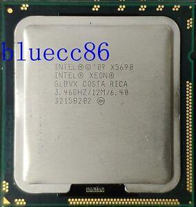 Intel Xeon X5690 SLBVX 3.46GHz 6 Core 6.4GT/s 12MB 1333GHz LGA1366 CPU Processor
