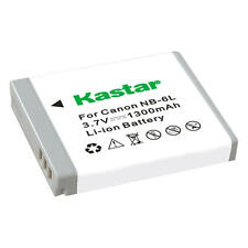 Kastar NB-6L Battery for Canon PowerShot SD1300 IS, SD3500 IS, SD4000 IS