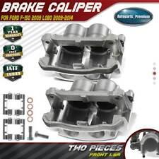 Front Left & Right Brake Caliper w/ Bracket for Ford F-150 2009 Lobo 2009-2014