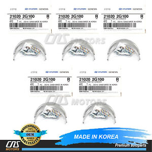 GENUINE Crankshaft Main Bearing Set for 06-18 Hyundai Kia 1.6 2.0 2.4 210202G100
